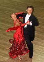 Warren Boyce & Kristi Boyce at  IDTA MIDLAND OPEN CHAMPIONSHIPS