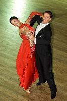 Stephen Arnold & Gemma-louise Arnold at  IDTA MIDLAND OPEN CHAMPIONSHIPS