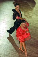 Craig Jones & Florence Edge at  IDTA MIDLAND OPEN CHAMPIONSHIPS