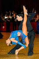 Daniel Silva & Stephanie Warwick at The British Closed 2007
