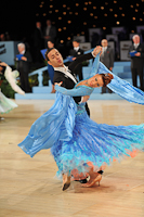 Gianni Caliandro & Arianna Esposito at UK Open 2013