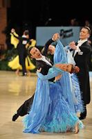 Gianni Caliandro & Arianna Esposito at UK Open 2013