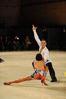 Anton Sboev & Patrizia Ranis at UK Open 2012