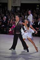 Andriy Babiy & Irina Dengyna at Blackpool Dance Festival 2013