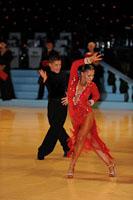 Francesco Bertini & Sabrina Manzi at UK Open 2012