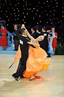 Mikhail Avdeev & Olga Blinova at UK Open 2013