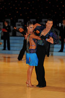 Mykyta Serdyuk & Anna Krasnishapka at UK Open 2012