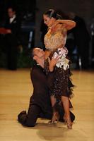 Justinas Duknauskas & Anna Melnikova-Duknauske at UK Open 2012