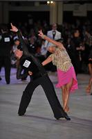 Pavel Alexeevsky & Ekaterina Zhupleva at Blackpool Dance Festival 2013