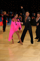 Yuuichi Andou & Sandy Kawachi at UK Open 2012