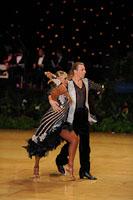 Stefano Moriondo & Darya Byelikova at UK Open 2012