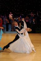 Alex Freyr Gunnarsson & Liis End at UK Open 2012