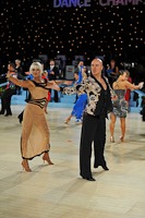 Danny Bell & Mimi Kevan at UK Open 2013