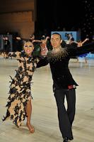 Alex Wei Wang & Roxie Jin Chen at UK Open 2013