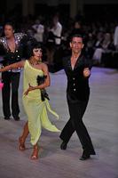 Arsen Agamalian & Oksana Vasileva at Blackpool Dance Festival 2013
