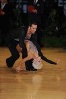 David Byrnes & Karla Gerbes at UK Open 2012