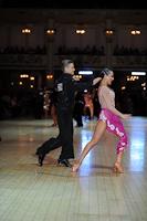 Dominik Rudnicki-Sipajlo & Adrianna Lojszczyk at Blackpool Dance Festival 2012