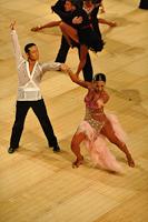 Keiichi Arai & Naoko Harada at UK Open 2013
