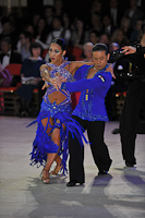 Keiichi Arai & Naoko Harada at Blackpool Dance Festival 2013
