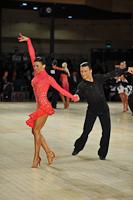 Denys Drozdyuk & Antonina Skobina at UK Open 2013