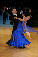 Jonas Kazlauskas & Jasmine Chan at UK Open 2012