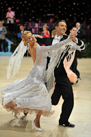 Arunas Bizokas & Katusha Demidova at UK Open 2013