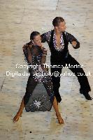 Neil Jones & Ekaterina Jones at International Championships 2009