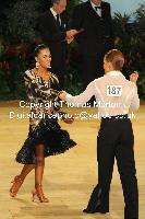 Neil Jones & Ekaterina Jones at UK Open 2010