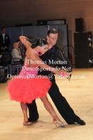 Valerijs Borovojs & Inna Orlova at UK Open 2013