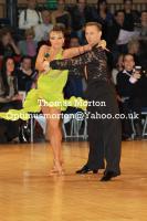 Ilia Borovski & Veronika Klyushina at UK Open 2011