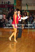 Ilia Borovski & Veronika Klyushina at Dutch Open 2009