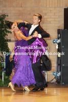 Domen Krapez & Monica Nigro at UK Open 2011