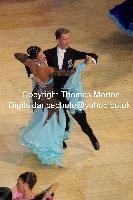 Domen Krapez & Monica Nigro at International Championships 2009