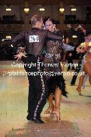 Anton Sboev & Patrizia Ranis at Blackpool Dance Festival 2009