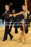 Anton Sboev & Patrizia Ranis at UK Open 2010