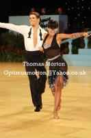 Jurij Batagelj & Jagoda Batagelj at UK Open 2011