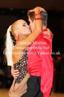 Jurij Batagelj & Jagoda Batagelj at UK Open 2012
