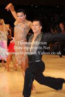 Andrej Skufca & Melinda Torokgyorgy at UK Open 2012