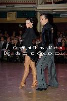 Andrej Skufca & Melinda Torokgyorgy at WDC World Professional Latin Championships