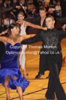 Ryan Mcshane & Ksenia Zsikhotska at The International Championships