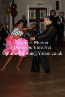 Ryan Mcshane & Ksenia Zsikhotska at The Spectacular Dance - Amateur Ballroom and Latin Challenger Cup