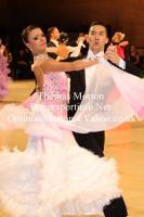 Victor Fung & Anastasia Muravyova at UK Open 2012