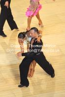 Maurizio Vescovo & Andra Vaidilaite at The International Championships