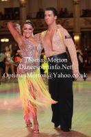 David Barnes & Loren James at Blackpool Dance Festival 2011