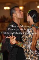 Dorin Frecautanu & Malene Ostergaard at Blackpool Dance Festival 2011