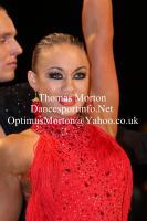 Dmytro Vlokh & Viktoriya Kharchenko at UK Open 2012