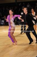 Gleb Chernyavsky & Yelyzaveta Savchenko at UK Open 2013