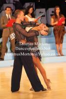 Vassili Anokhine & Kristina Androsenko at UK Open 2013