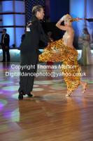 Cedric Meyer & Angelique Meyer at WDC Professional European Latin Championships
