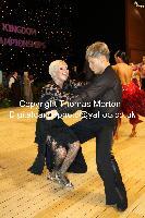 Sarunas Greblikas & Viktoria Horeva at UK Open 2010